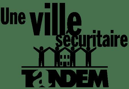Logo tandem, sécurité urbaine à Montréal